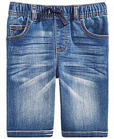 Toddler Boys Baxter Stretch Denim Shorts, Created For Macy's