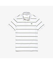 Lacoste Short Sleeve Stripe Golf Polo Shirt