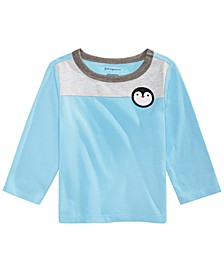 Baby Boys Colorblocked Penguin T-Shirt, Created For Macy's