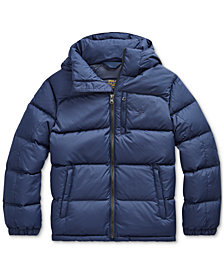 Polo Ralph Lauren Big Boys Ripstop Jacket, Created for Macy's