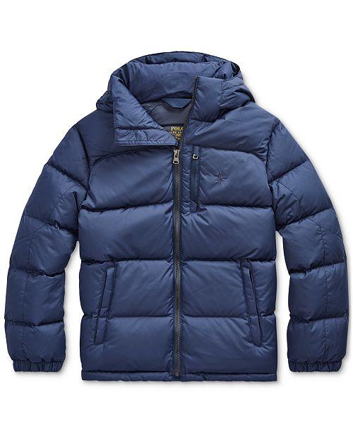 Polo Ralph Lauren Big Boys Ripstop Jacket, Created for Macy's