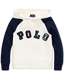 Polo Ralph Lauren Toddler Boys Knit Waffle Hooded Thermal