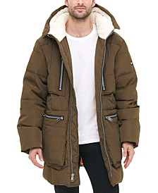 Men's Hooded Parka Jacket