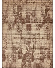 Jasia Jas07 Brown Area Rug Collection