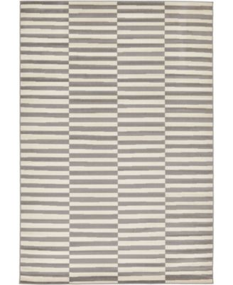 Axbridge Axb2 Gray 8' x 10' Area Rug