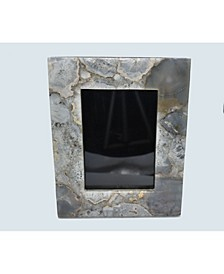 """- 10"""" H x 8"""" W Agate Picture Frame"""