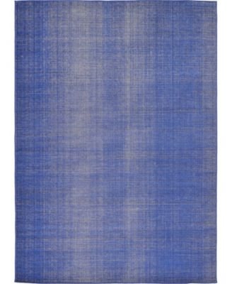 Axbridge Axb3 Navy Blue 7' x 10' Area Rug