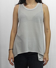 Womens Cotton Mesh Swing Tank