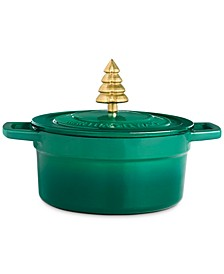 2-Qt. Enameled Cast Iron Dutch Oven with Tree Knob, Created for Macy's