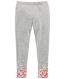 Toddler Girls Border-Print Leggings, Created For Macy's