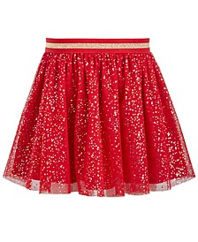 Little Girls Sparkle Dot Tulle Skirt, Created For Macy's