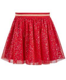 Little Girls Sparkle Dot Tulle Skirt, Created For Macy's