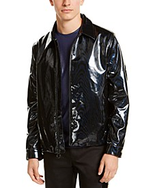INC Men's Rubberized Harrington Jacket, Created For Macy's