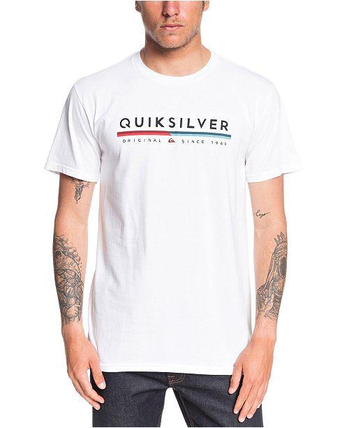 Quiksilver Men's Retro Lines T-Shirt