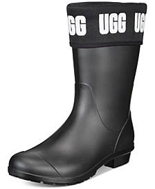 Women's Sienna Matte Graphic Rain Boots