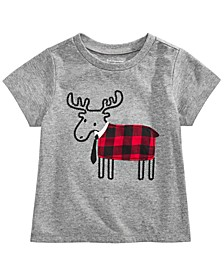 Baby Boys Elk Tie T-Shirt, Created for Macy's