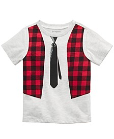 Baby Boys Punk Rock Tie T-Shirt, Created For Macy's