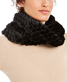 INC Twisted Heart Faux Fur Cowl Loop Scarf, Created For Macy's