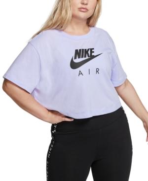 Nike Shorts AIR PLUS SIZE SHORT-SLEEVE CROP TOP