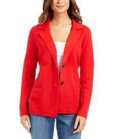 Sweater Blazer Jacket, Created for Macy's