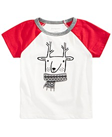 Baby Boys Chilly Reindeer T-Shirt, Created For Macy's