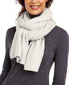 I.N.C. Twisted Rib Muffler Scarf, Created for Macy's