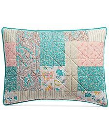 Southern Living Patchwork Standard Sham, Created for Macy's