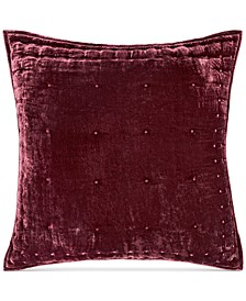 Tufted Velvet European Sham, Created For Macy's