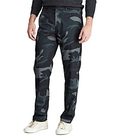 Men's Straight Fit Camo Pants
