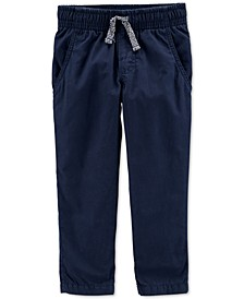 Baby Boys Jersey-Lined Pants