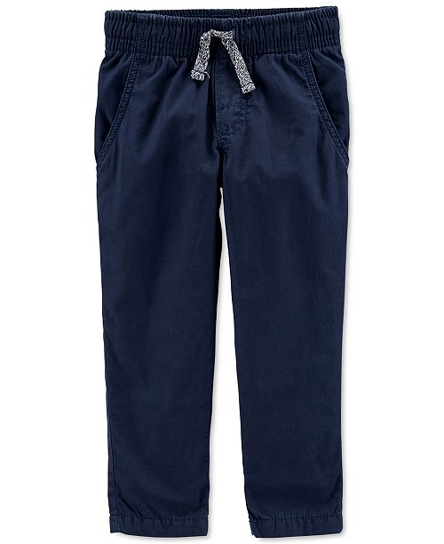 Carter's Baby Boys Jersey-Lined Pants