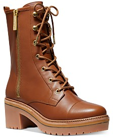 Michael Michael Kors Anaka Combat Boots
