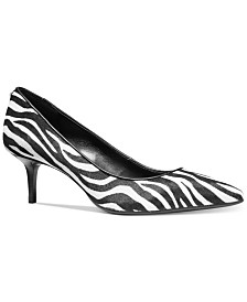Michael Michael Kors Kitten-Heel Flex Pumps