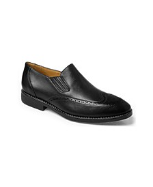 Wing Tip Double Gore Slip-On
