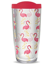 Flamingos Double Wall Insulated Tumbler, 16 oz