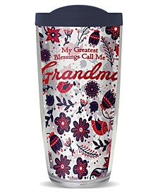 Grandma Blessing Double Wall Insulated Tumbler, 16 oz