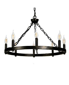 Canyon Home 8 Light Chandelier