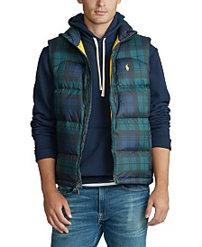 Polo Ralph Lauren Men's Camo Down Vest