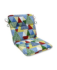 Tribune Multi Rounded Corners Chair Cushion