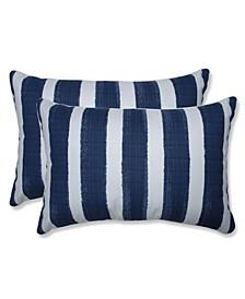 "Nico Stripe 16.5"" x 24.5"" Outdoor Decorative Pillow 2-Pack"