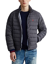 Men's Packable Quilted Down Jacket