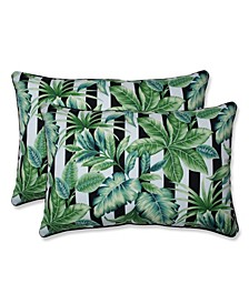 """Palmetto 16.5"""" x 24.5"""" Outdoor Decorative Pillow 2-Pack"""