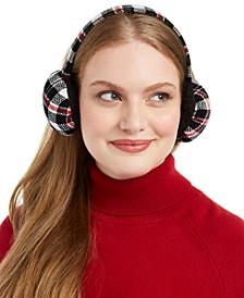 Plaid Chenille Earmuffs, Created For Macy's