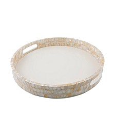 CLOSEOUT Mother of Pearl Tray