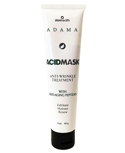 Zion Health ADAMA Face Mask Acid Mask, 4 oz