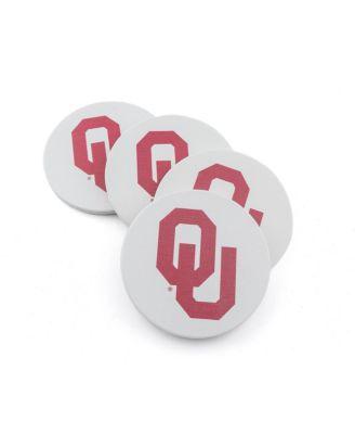 Thirstystone University of Oklahoma Cork Coaster Set