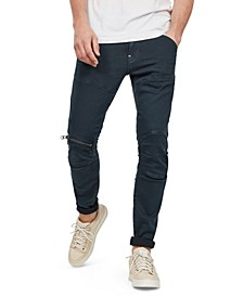 Men's 5620 3D Skinny-Fit Stretch Zip Knee Jeans