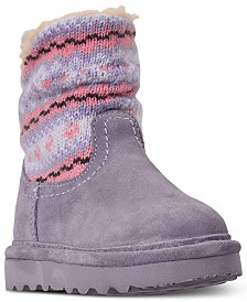 Bearpaw Toddler Girls' Virginia Boots from Finish Line