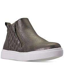 Steve Madden Little Girls' JREGGIE High Top Casual Sneakers from Finish Line