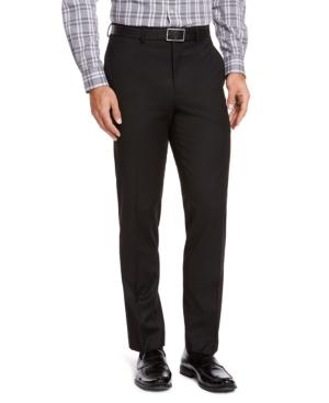 Men's Classic-Fit Medium Blue Suit Pants